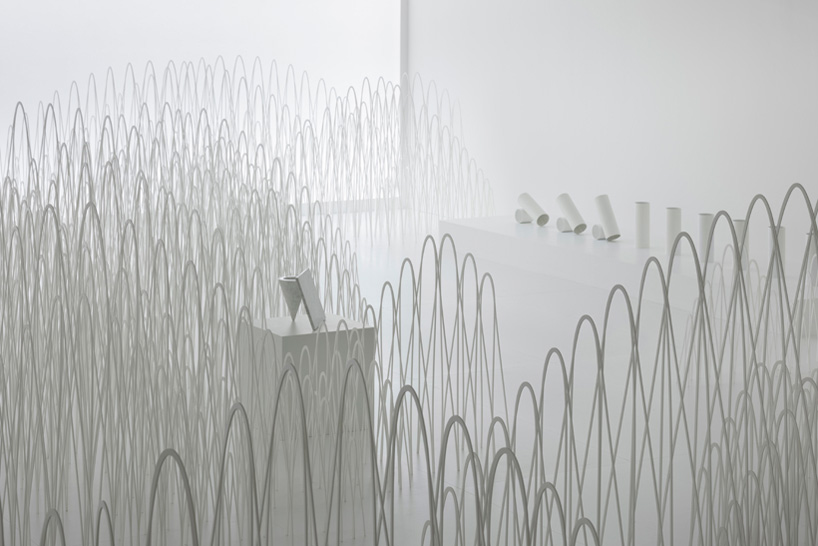 Source: designboom Nendo and Jill Sanders invisible outlines