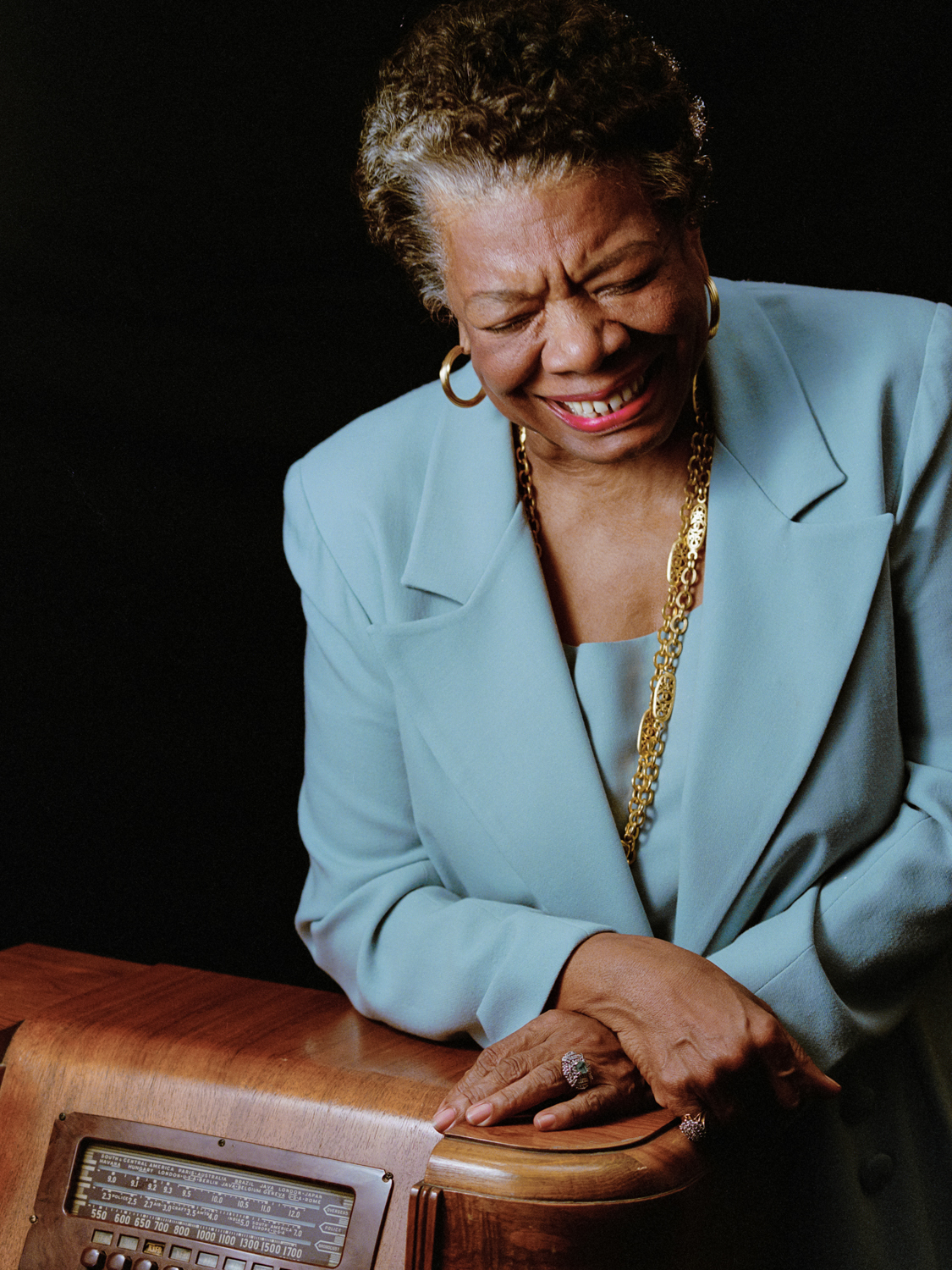 Images of Maya Angelou by Palm Springs photographer Tim Courtney at TimCourtneyPhotography.com
