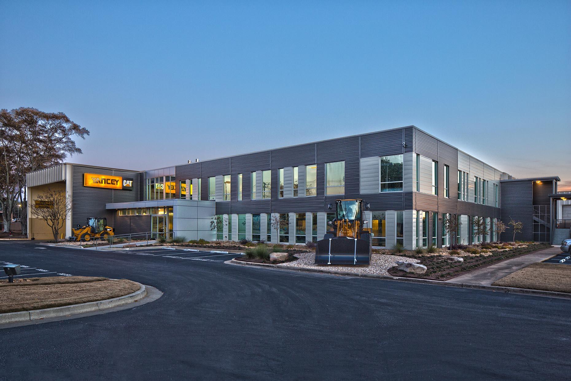Yancey Caterpillar - Atlanta, GA // Client: Corbin Design Group (Teamed with Creative Sources Photography)