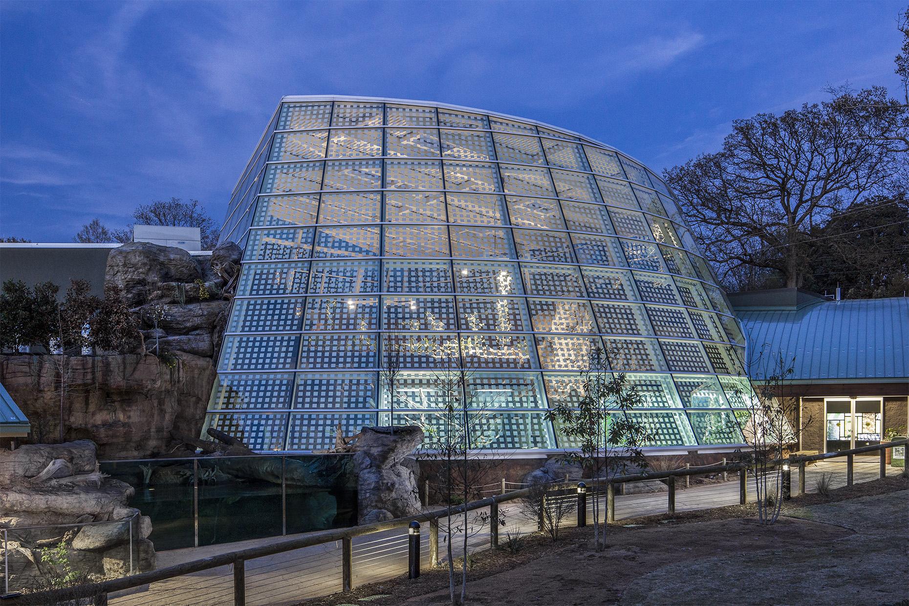 Zoo Atlanta - Reptile House // Clients: Architect: Torre Design // Builder: Winter Construction // Exhibit Contractor: Drill Construction