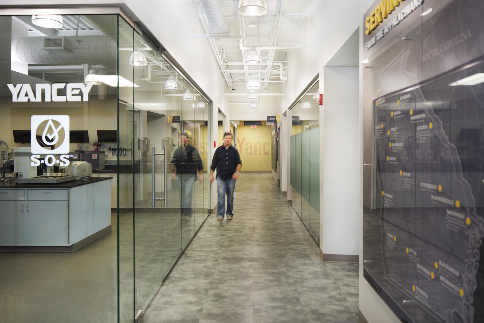 Yancey Caterpillar // Atlanta, GA // Client: Corbin Design Group