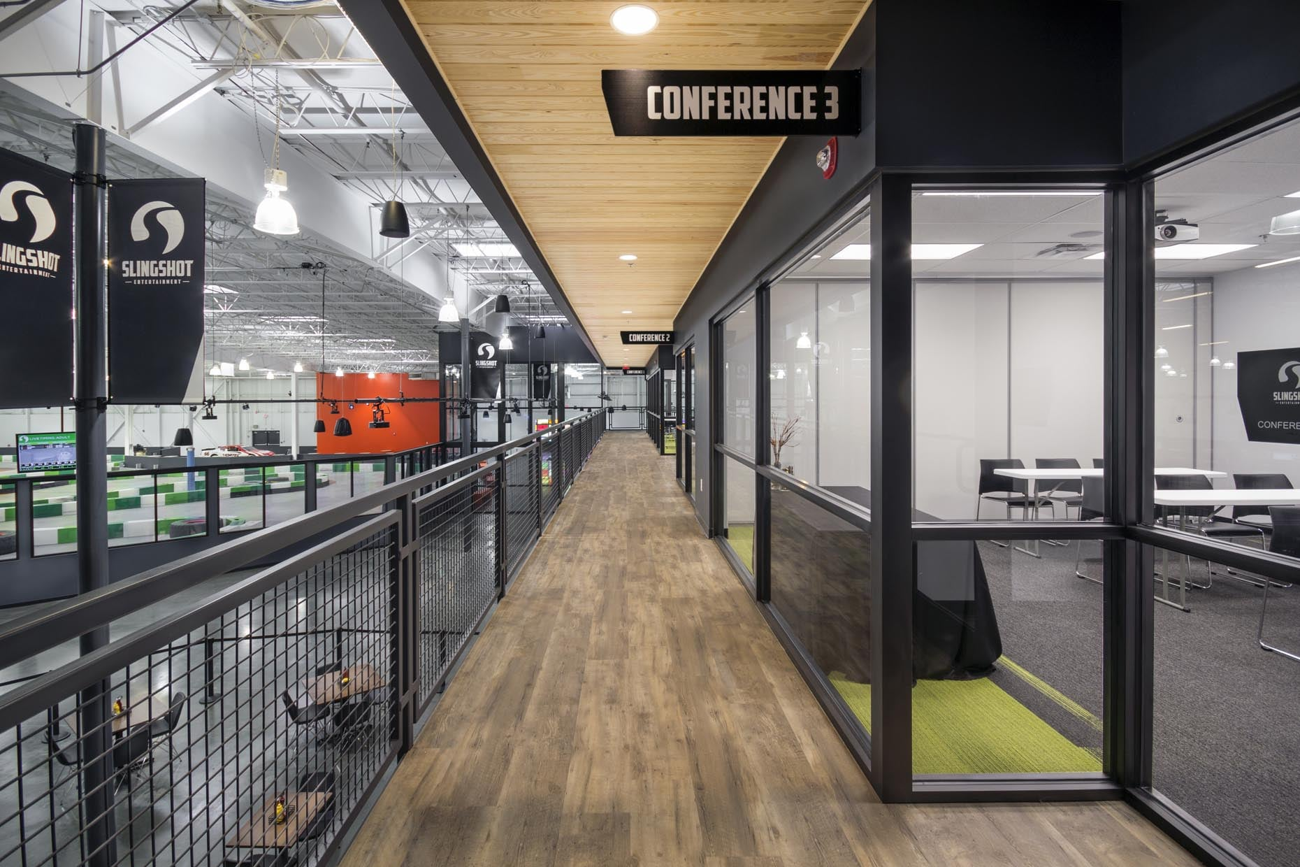 Slingshot Entertainment Center - Norcross, GA // Client: Lusk & Co., Inc.