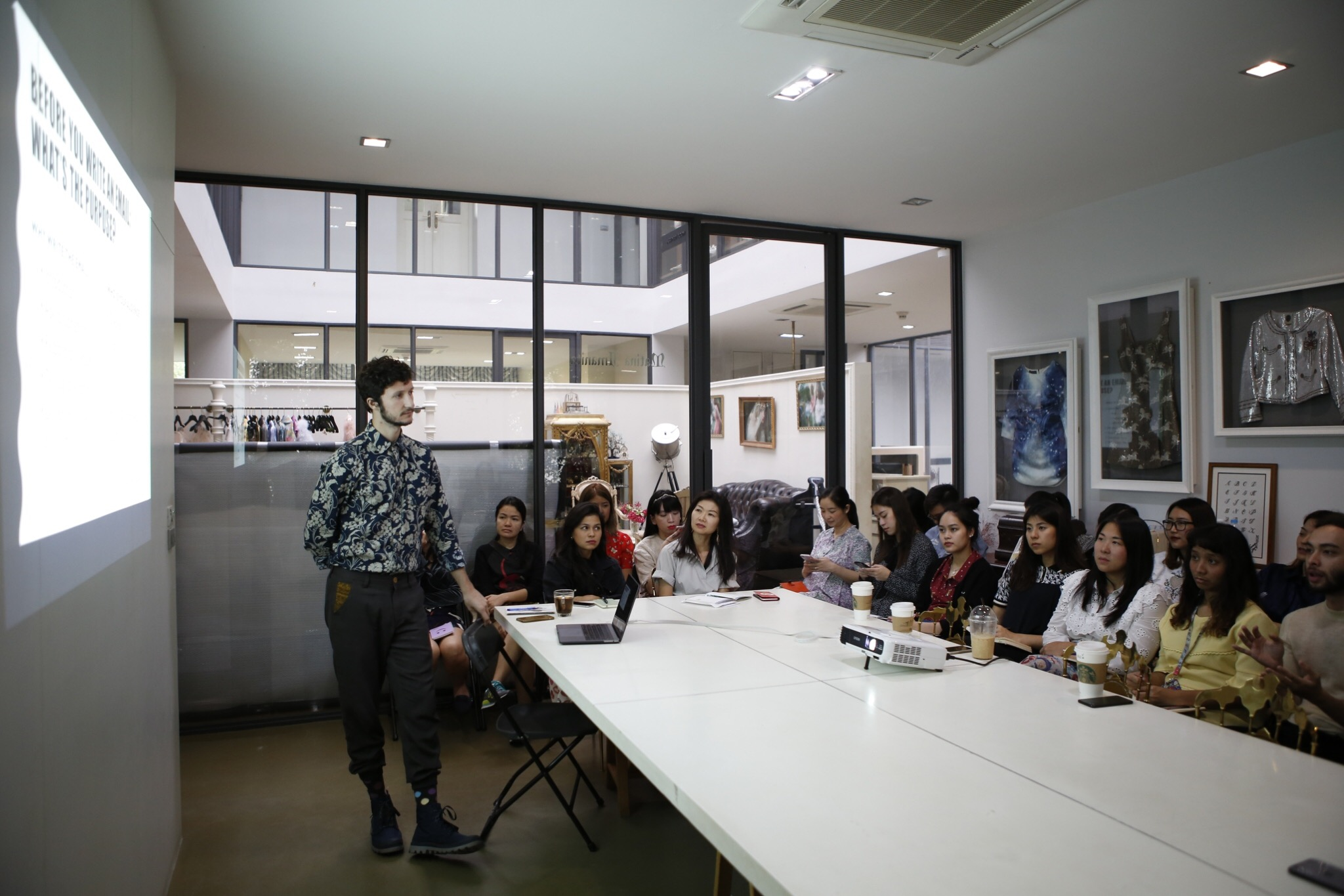 Leading Workshop in Thailand