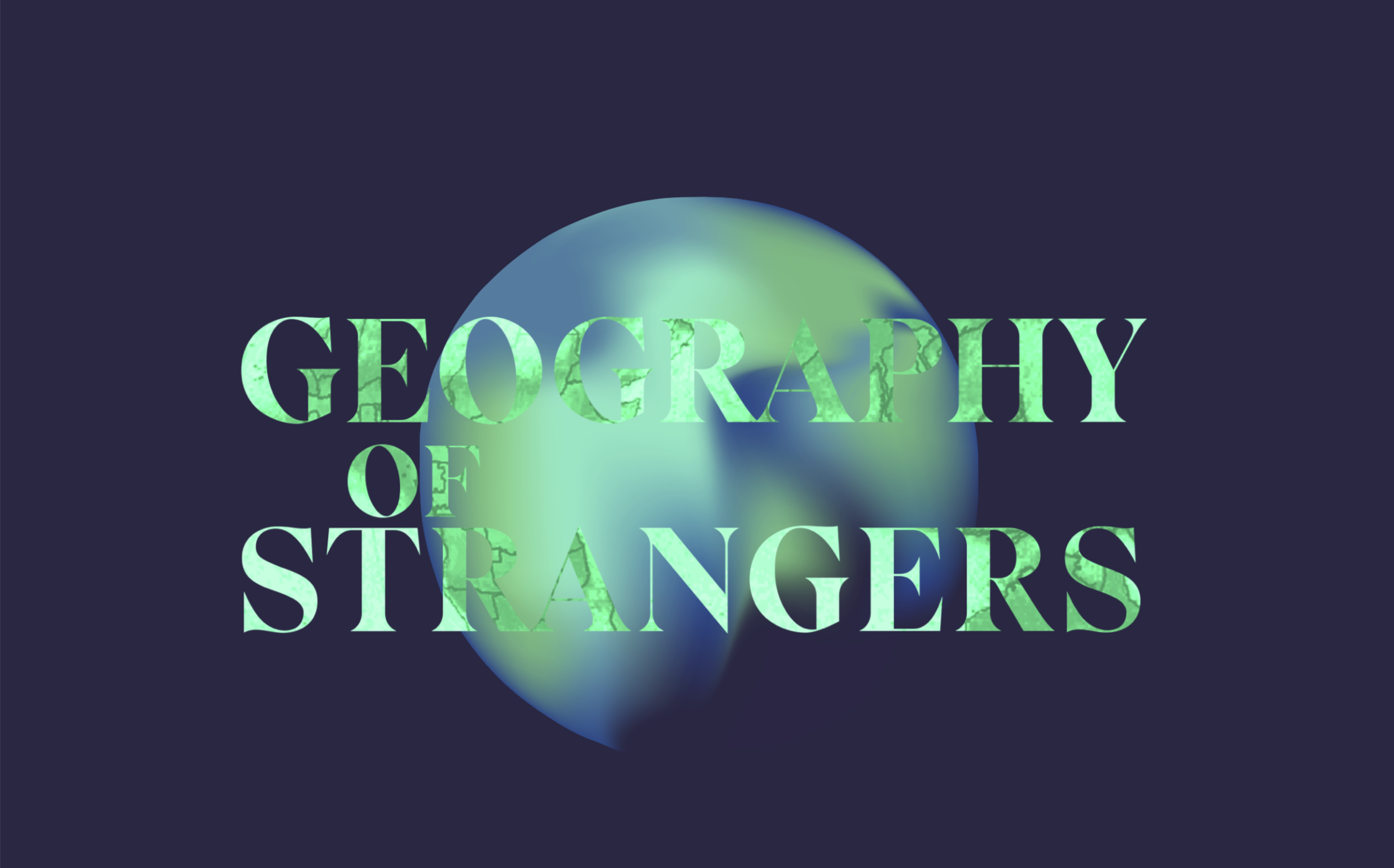 Geography of Strangers Logo