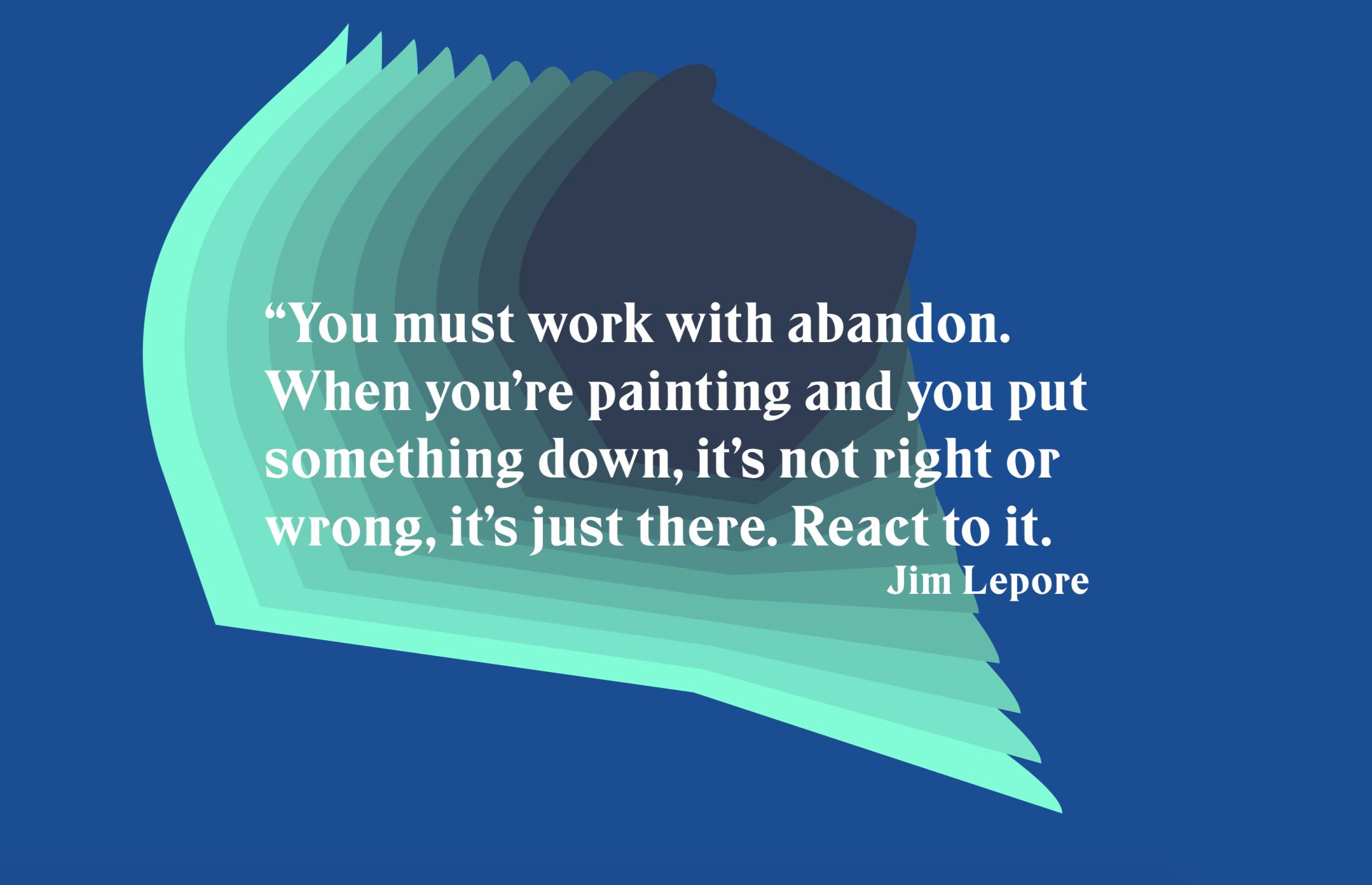 Work with Abandon