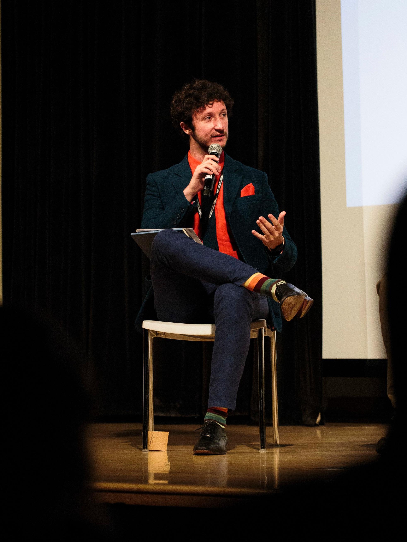 Jimmy Hagan Octopus Panel Moderator