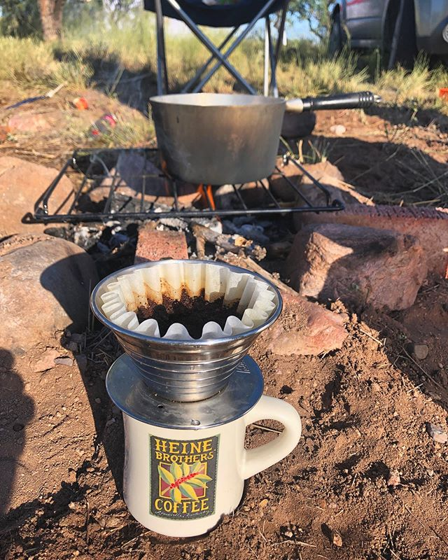 they have in-house baristas in the sonoran desert now. 6/10 service, 10/10 view . . . . #camping #coffee #tucsoncoffee #localcoffee #eatlocal #tucsonaz #arizona #campcoffee #lascienagas #patagoniaaz