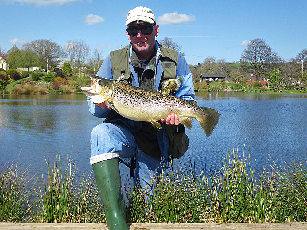 Exe Valley Record Brown Trout