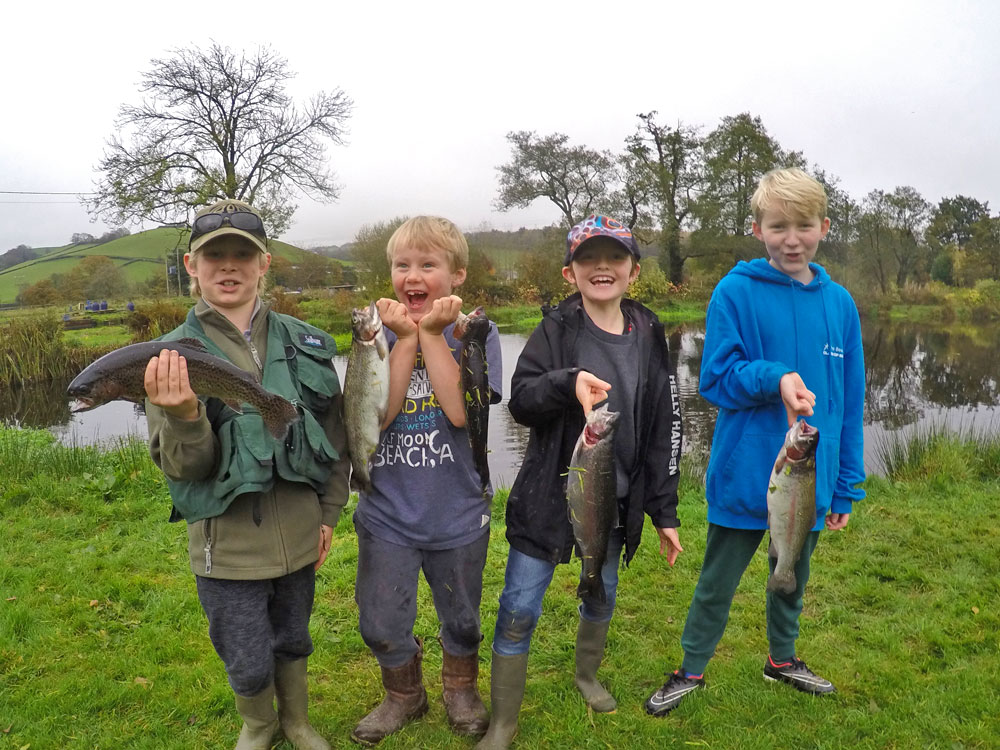 Exe Valley Fishery is the perfect place to celebrate a birthday