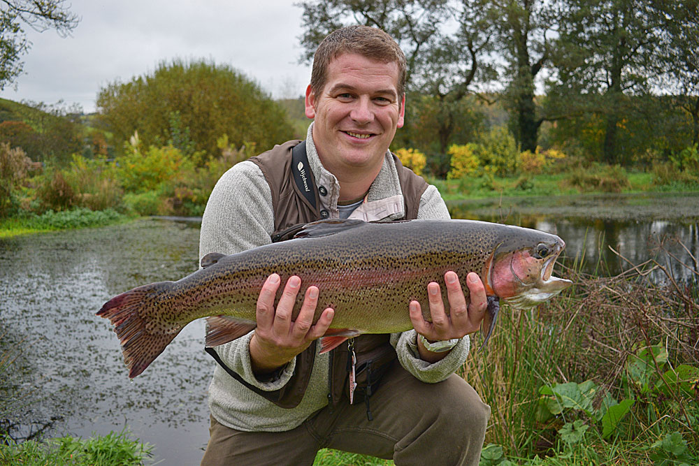 Could this be next months winner?  Steve's 10lb 12oz Rainbow may top the list but more doubles will be stocked during November.