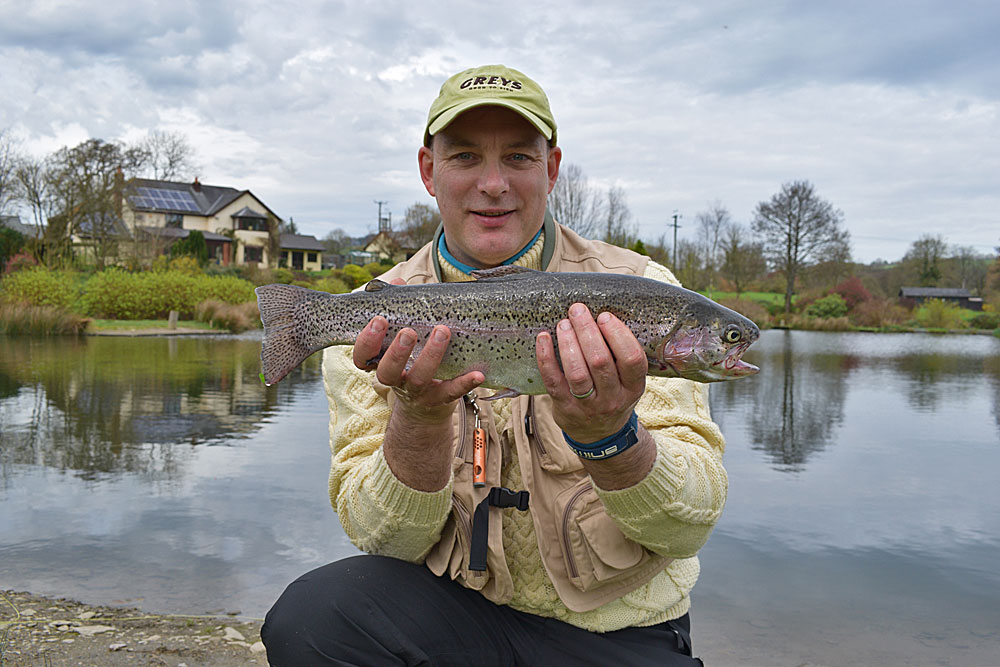 First on a dry for Andy Berwick!