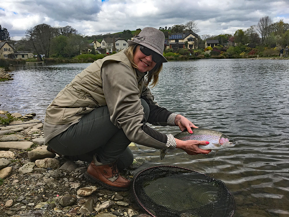 Exe Valley caters for anglers who like to release their fish ...