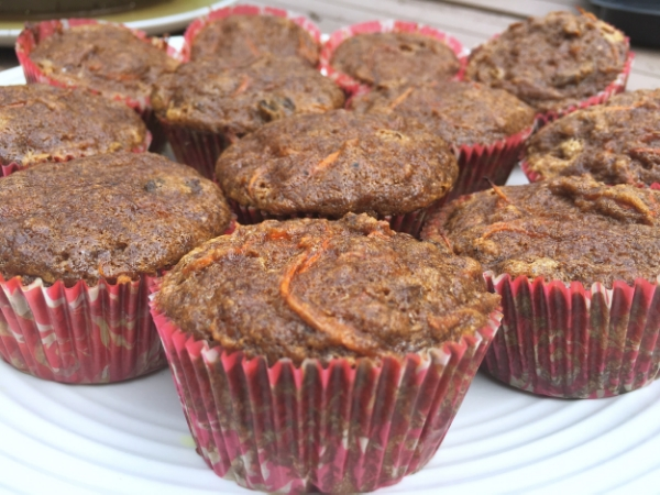 Carrot Gingerbread muffins from Practical Paleo by Diane Sanfilippo