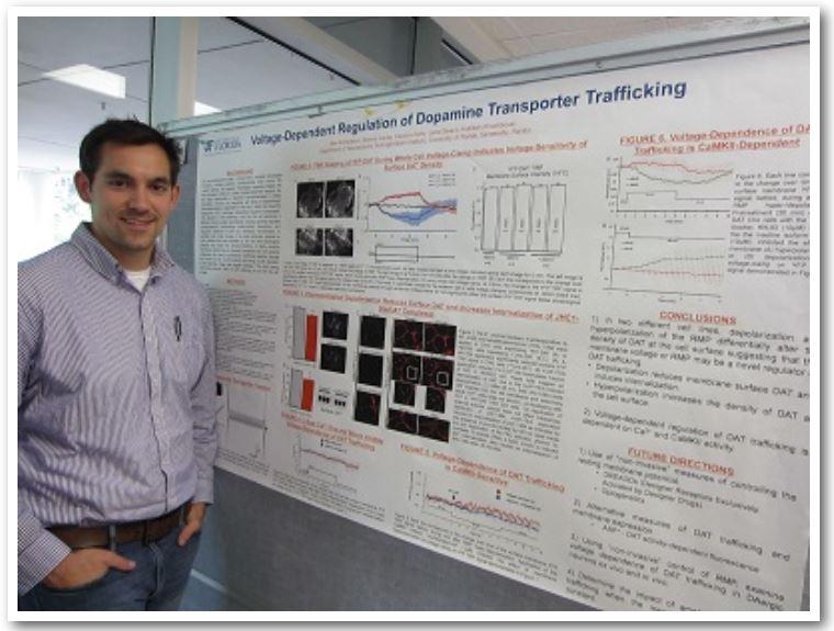 Ben Richardson   Voltage-Dependent Regulation of Dopamine Transporter Trafficking