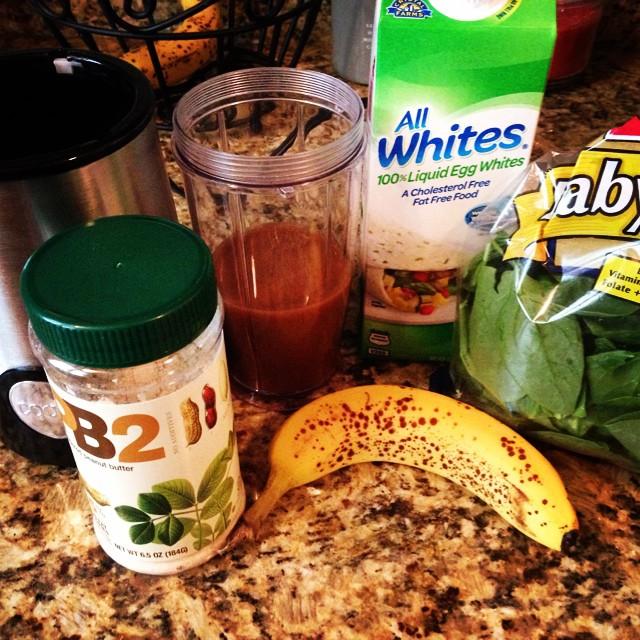 Smoothie ingredients - coffee