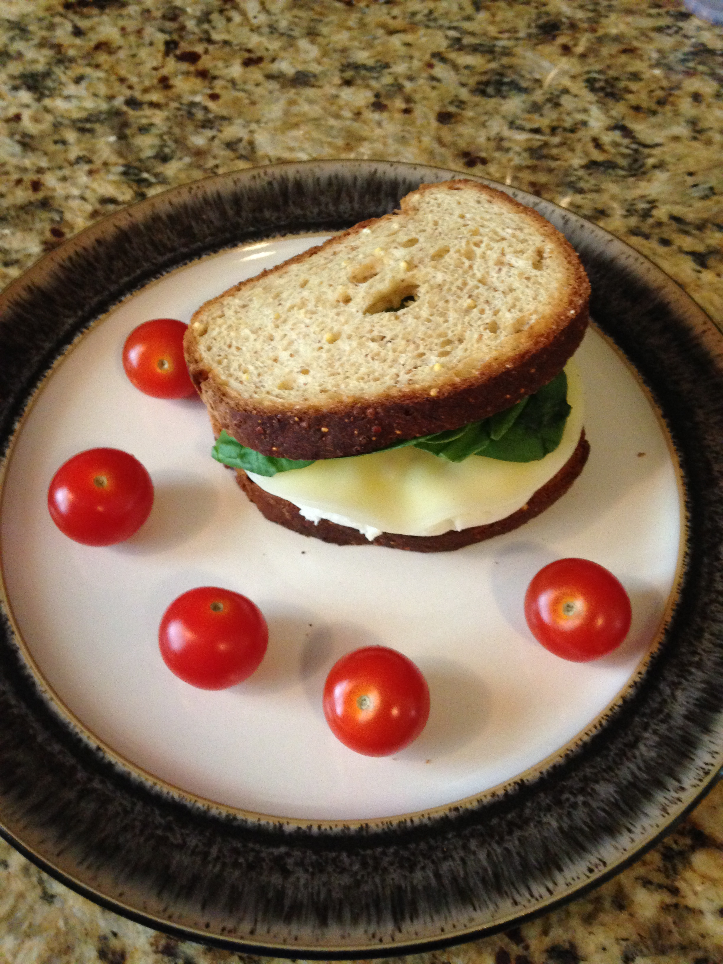 Quick Egg white sandwich