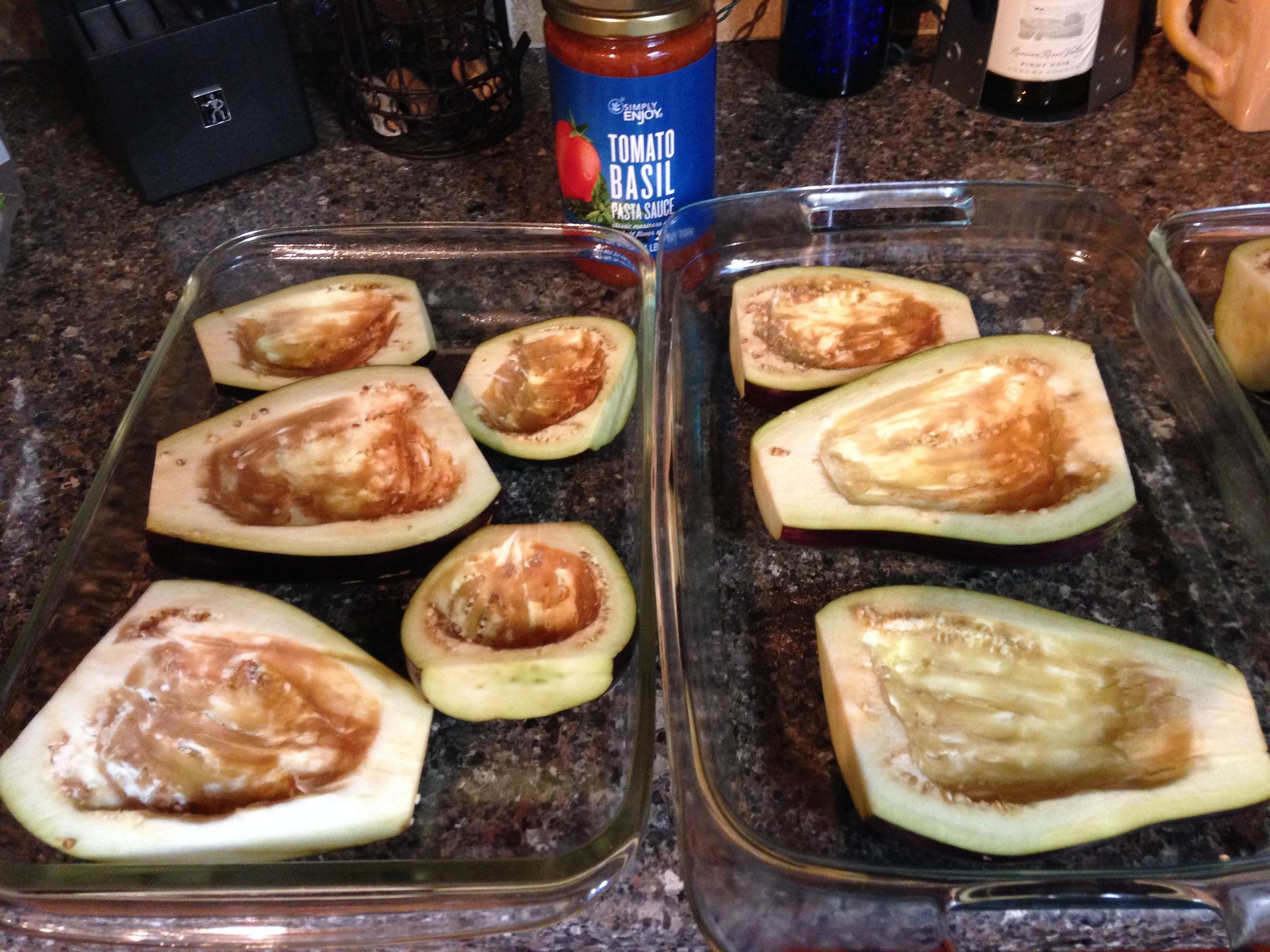 Eggplant prep