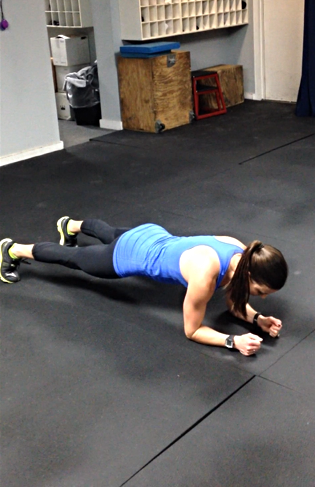 Exercise #3: 60-second Plank