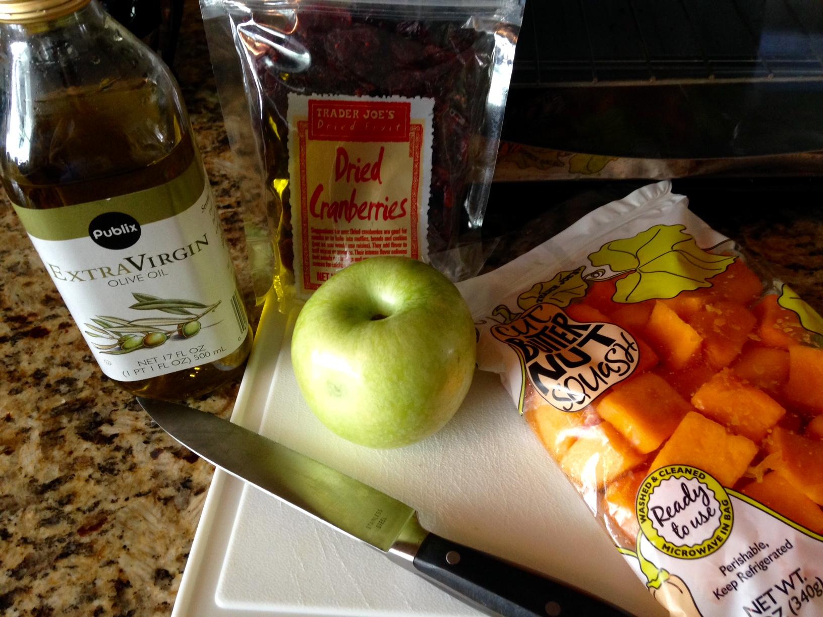 Baked Butternut Squash Casserole Ingredients