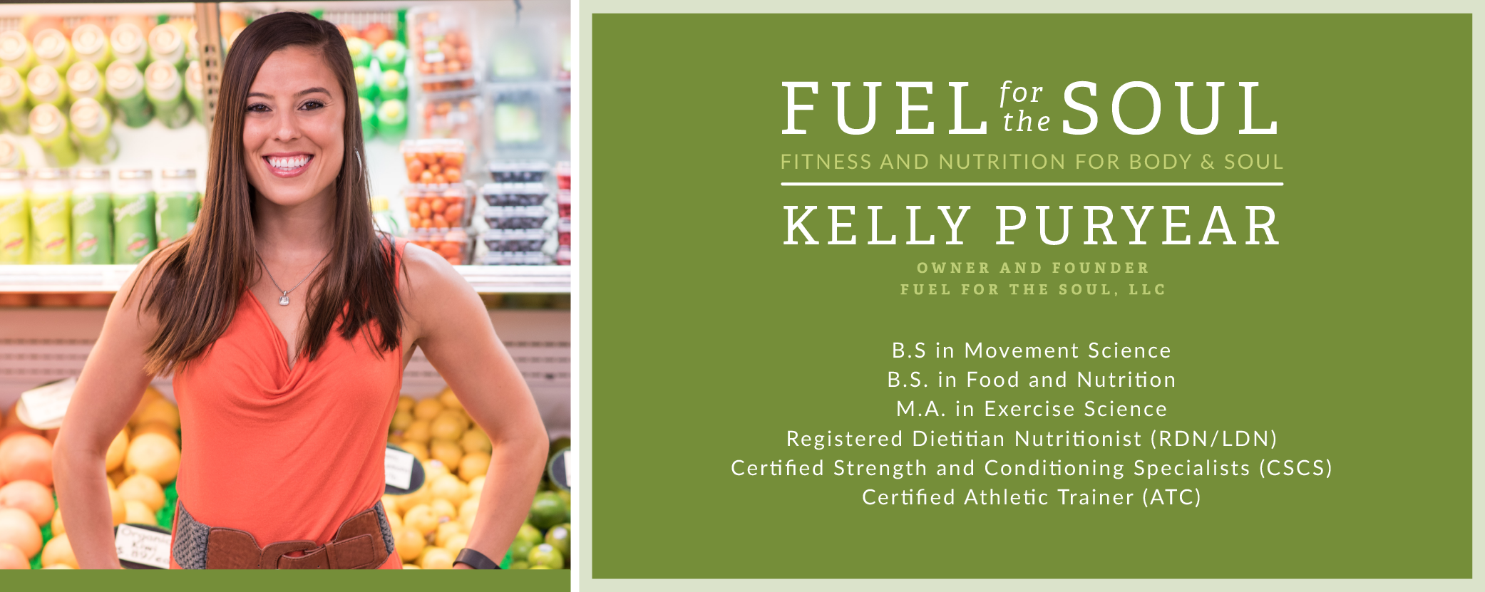 Fuel for the Soul | Kelly Raposo