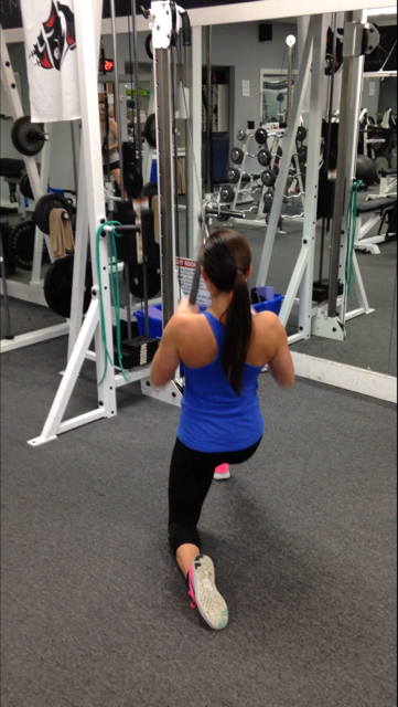 Exercise #1 - Cable Rope Close-grip Pull-down