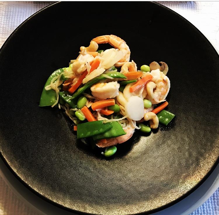Healthy Shrimp and Veggie Stir Fry