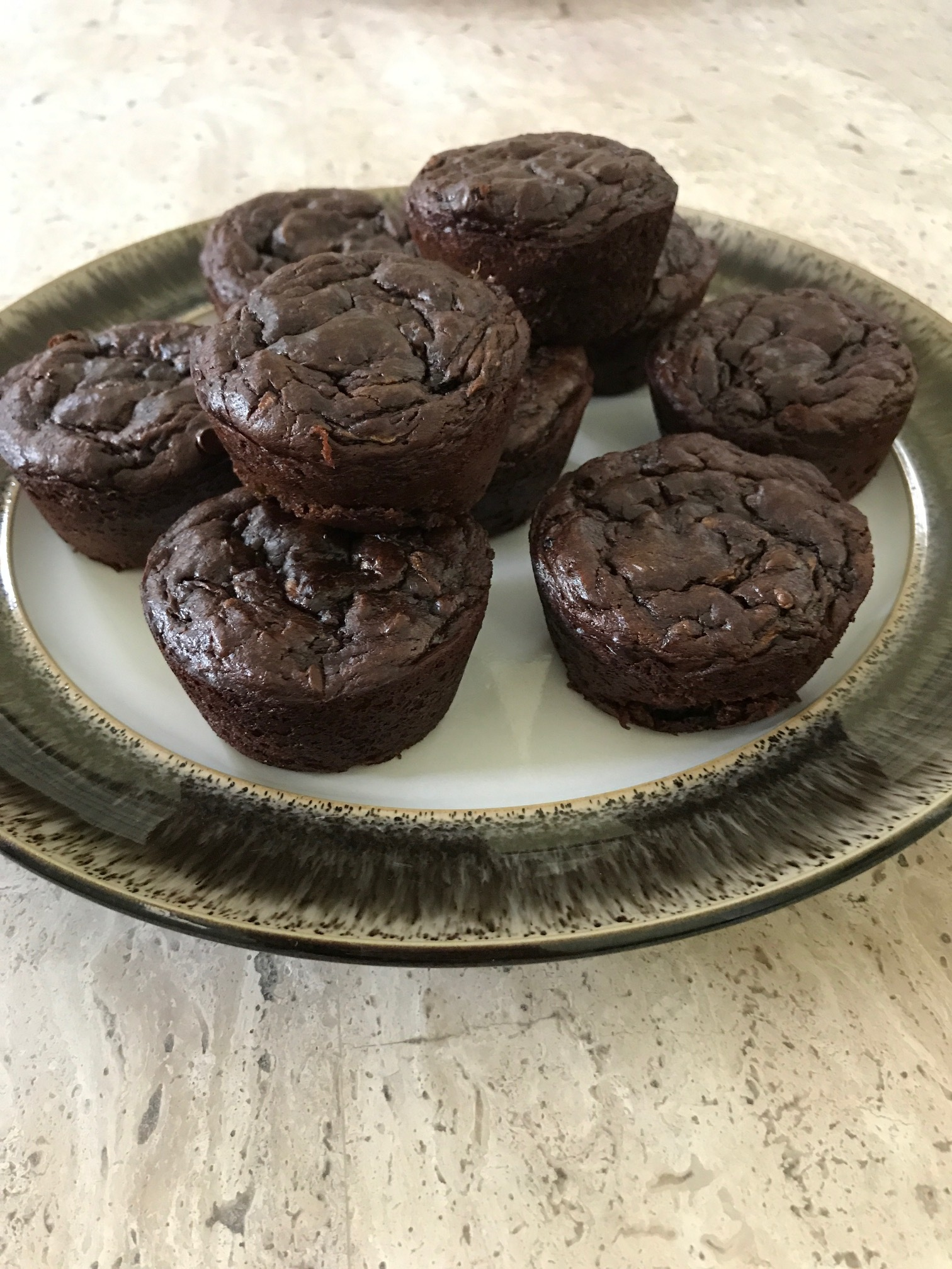 Flourless Double Chocolate Muffins Mix Finished 2.JPG