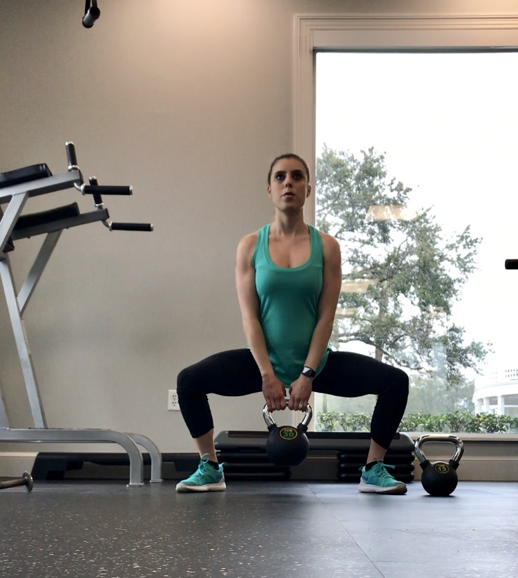 Lower Body Kettle Bell Circuit