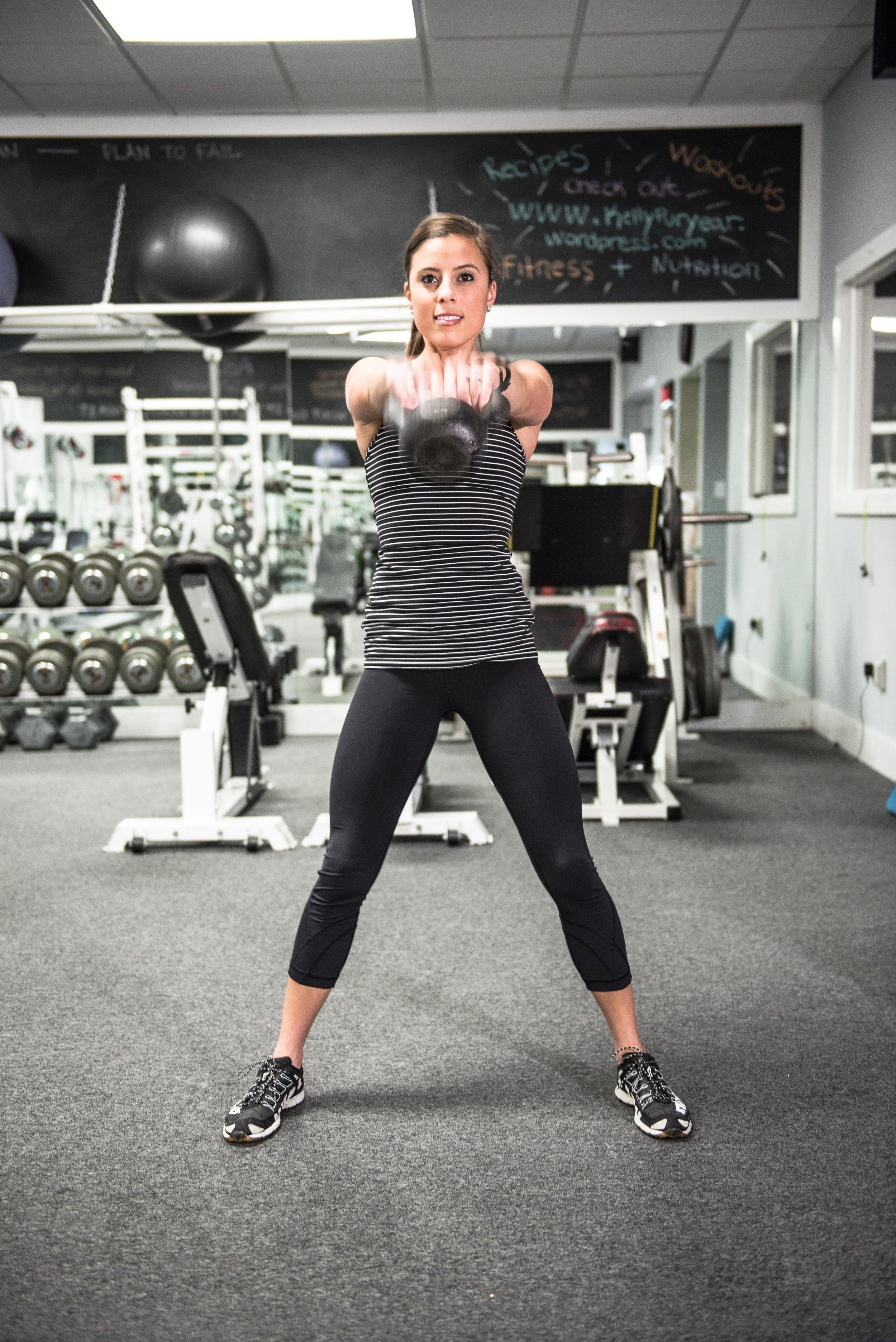 Full Body Kettle Bell Workout