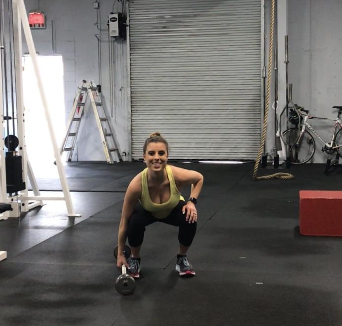 Full Body Ez Bar Workout