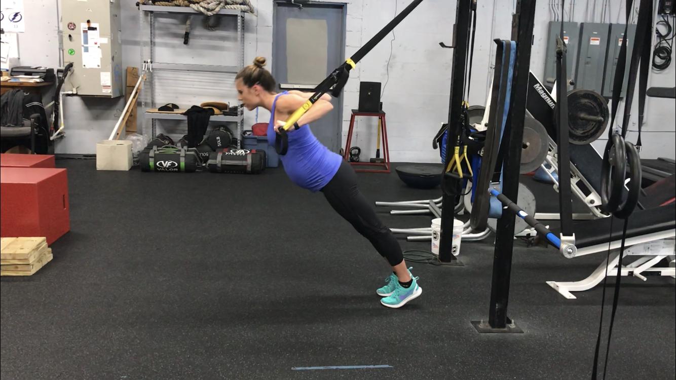 Full Body TRX Workout (prenatal)