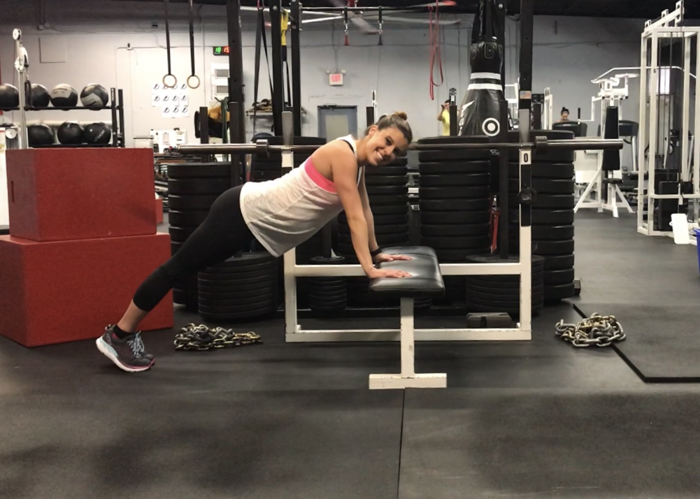 Full Body Bench Workout (Prenatal Approved)