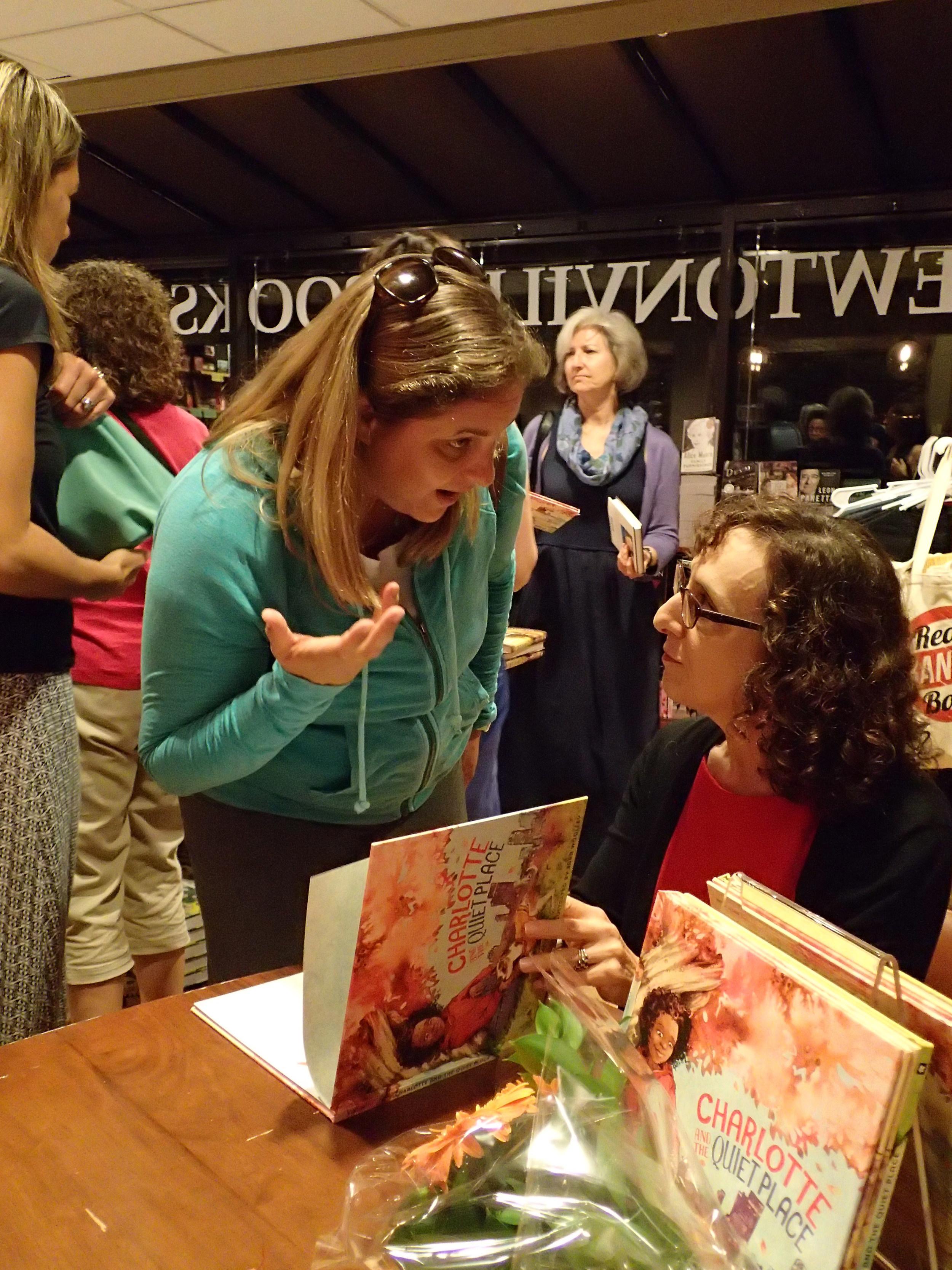 With fellow mindfulness author Carla Naumburg