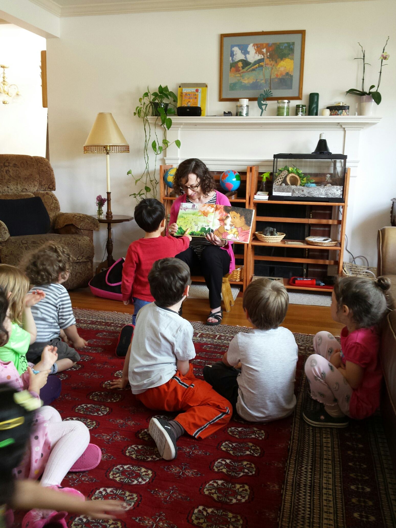 """""""Look at the spikes!"""" (of noise that Sara Woolley uses throughout the book)."""