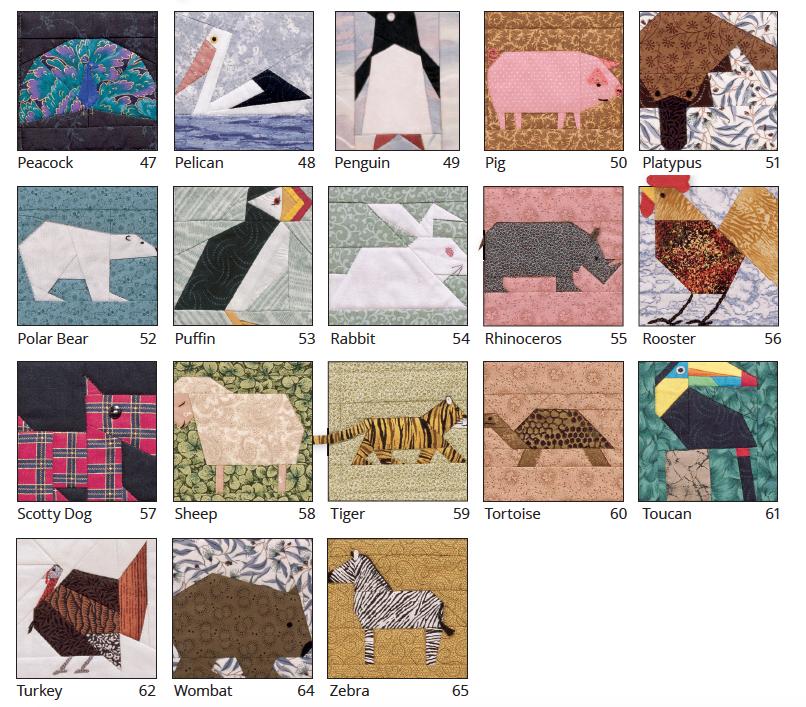 Miren la variedad de animales! Todos con sus encantos peculiares.