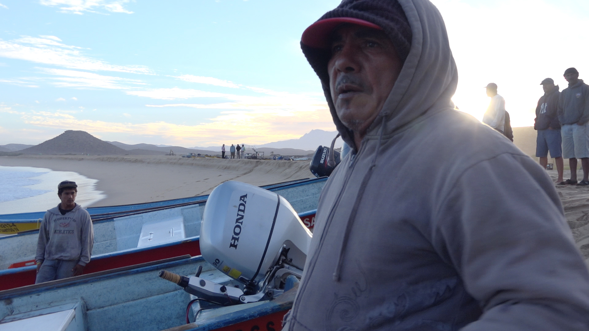 Rosario Salvatierra, a fourth generation fisherman in Todos Santos