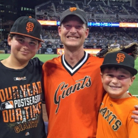 Trent with his sons, Jordan & Ethan Rhorer