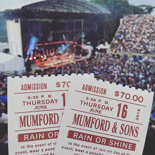 Mumford and Sons #mumfordandsons #live #music #queens #newyork #nyc