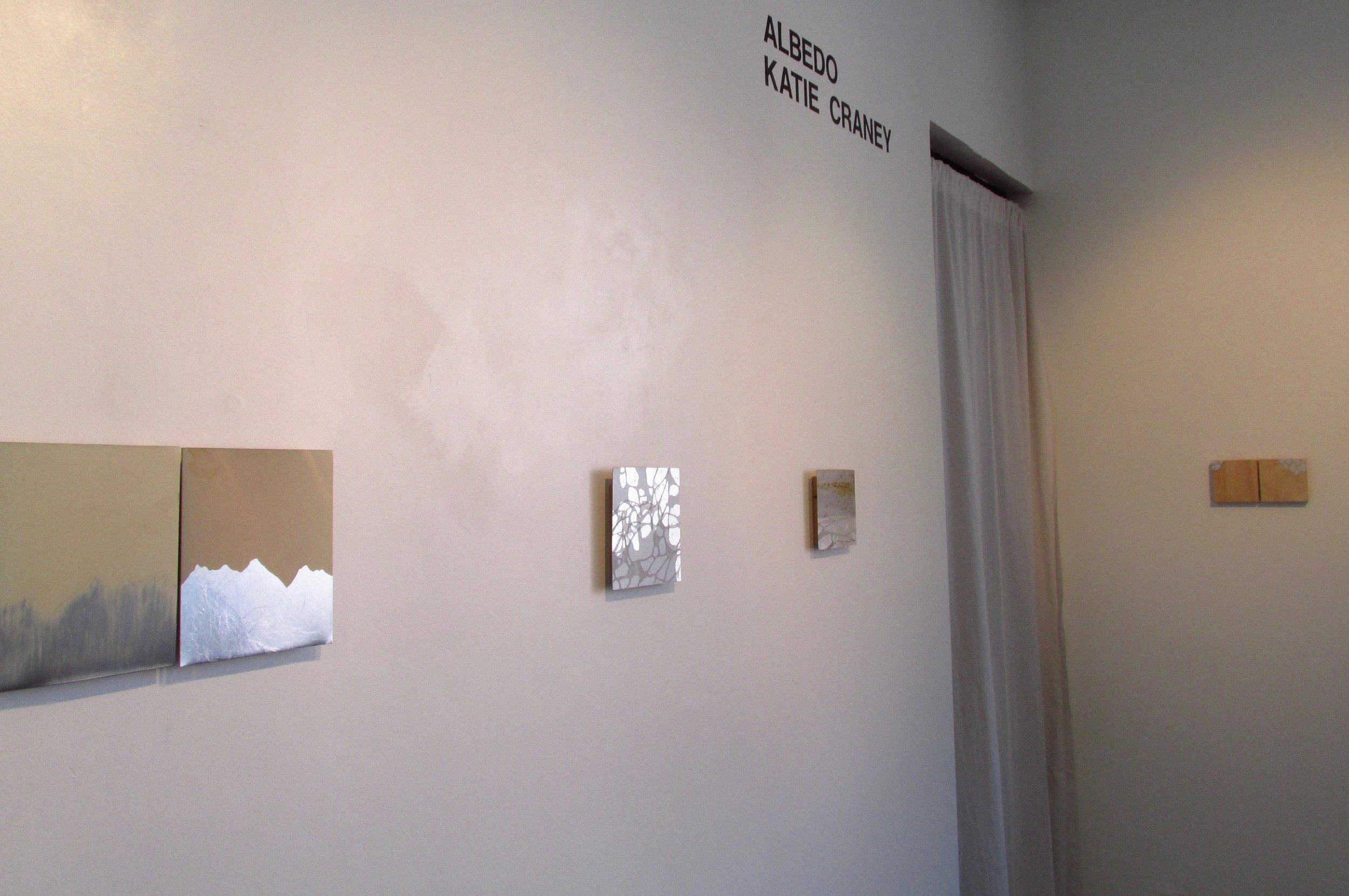 ALBEDO solo exhibition at the  International Gallery of Contemporary Art  in Anchorage, AK, October 2016. This exhibition was supported, in part, by a Career Opportunity Grant from Alaska State Council on the Arts.