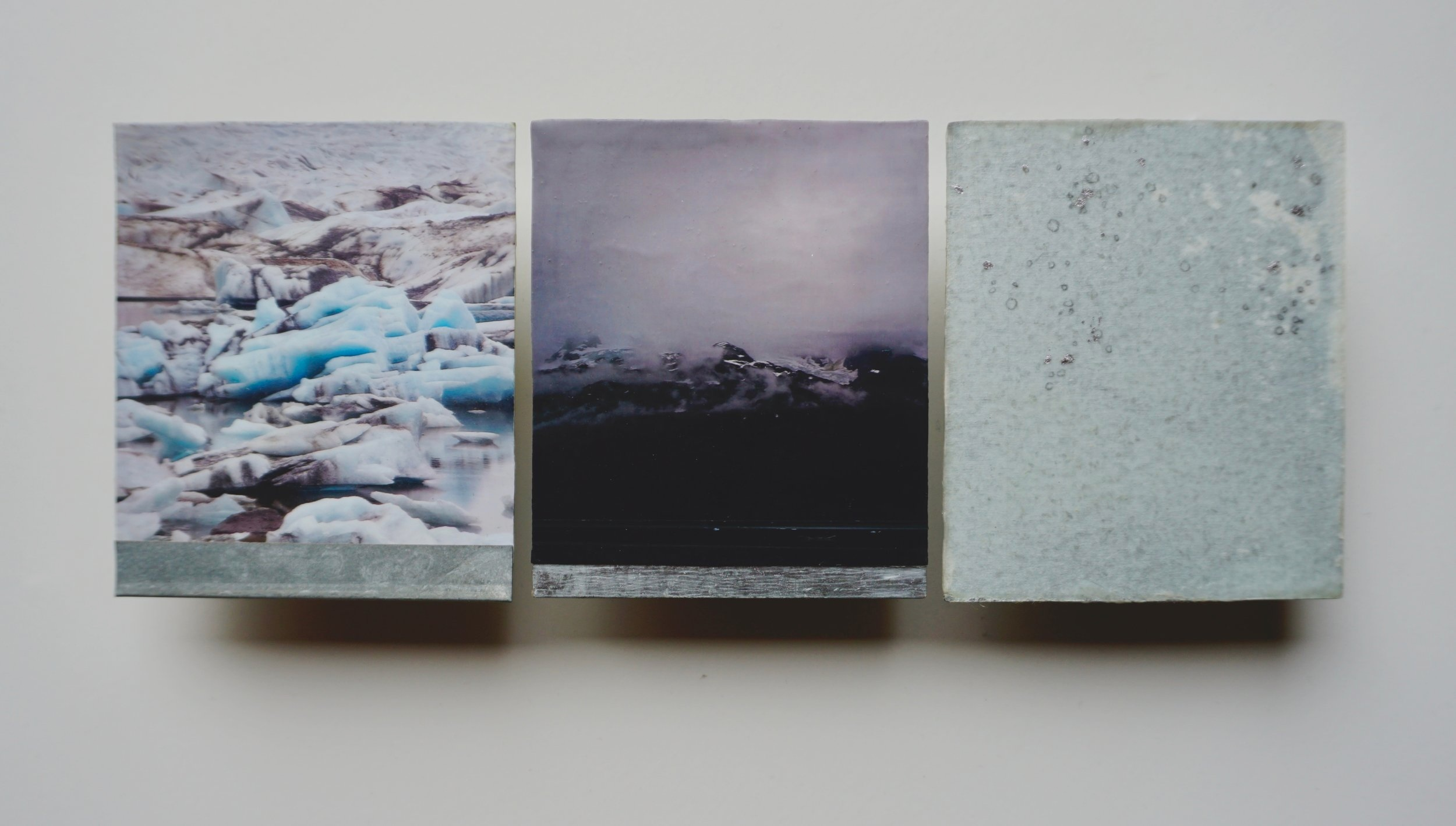 """The glaciers waiting, planning capitulation"" for Ernestine Saankalaxt' Hayes"