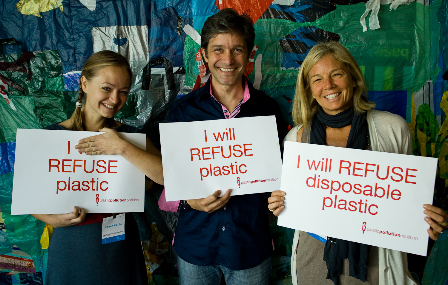 Together, we can END plastic pollution.   THE COALITION