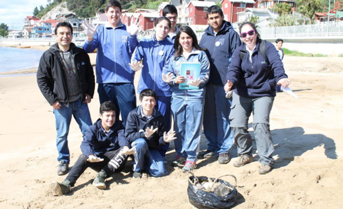 Students from Chile Coliumo