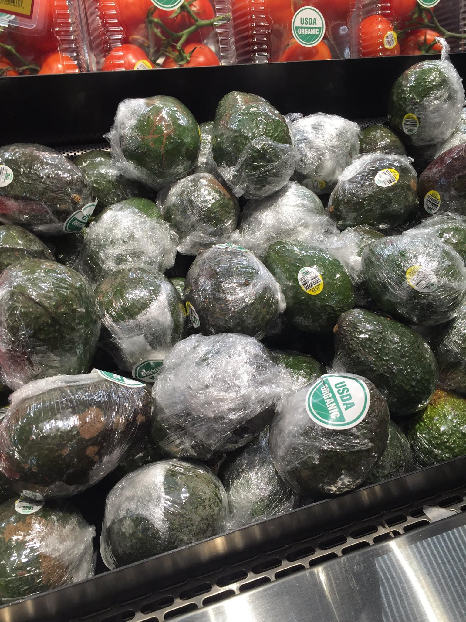 We are suffocating our produce in plastic