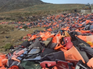 Culture   GHOSTLY DEBRIS   on Lesbos Island   Read more