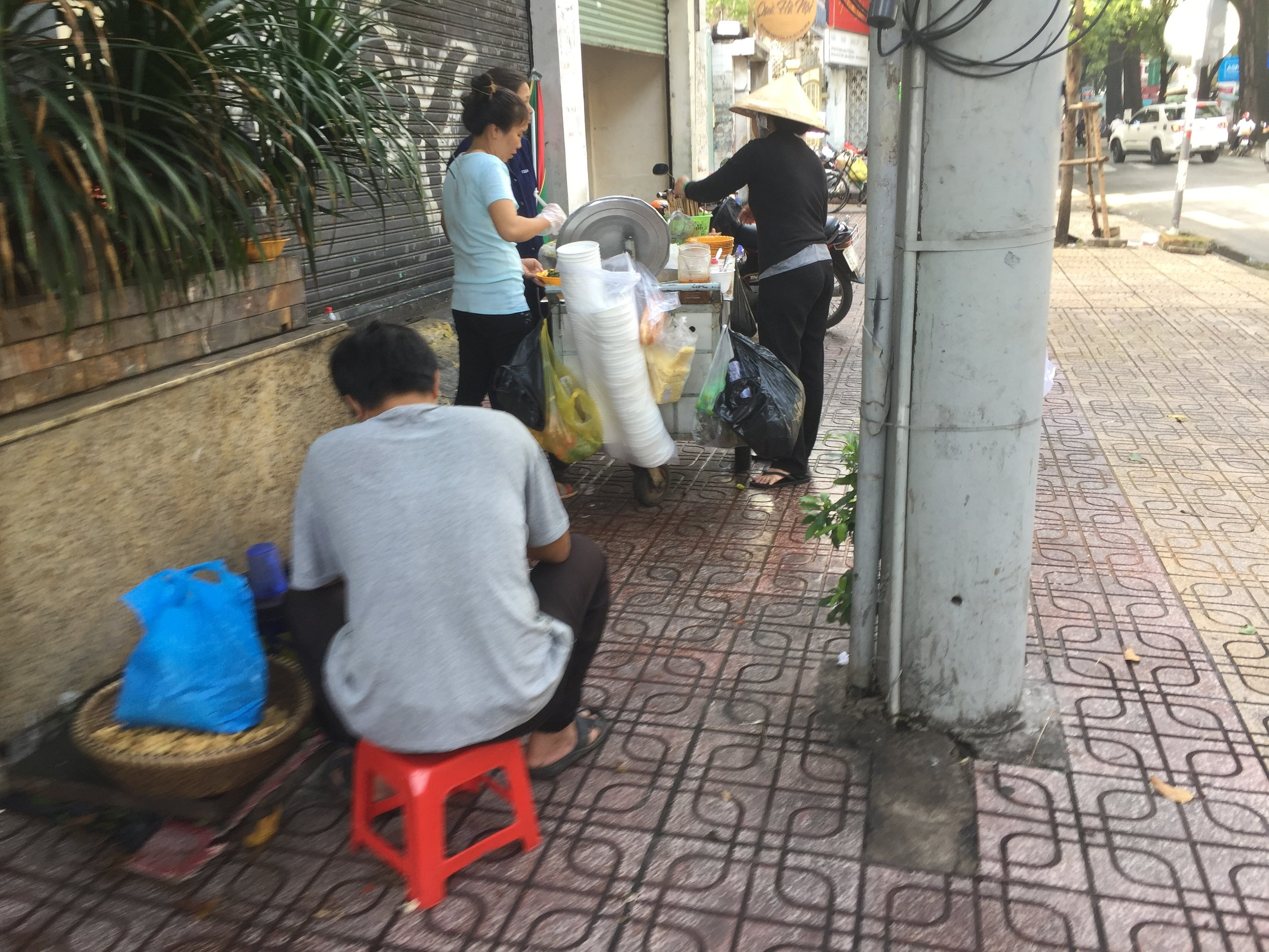 Avoiding street food served on plastic and styrofoam is a challenge, but it can be done.