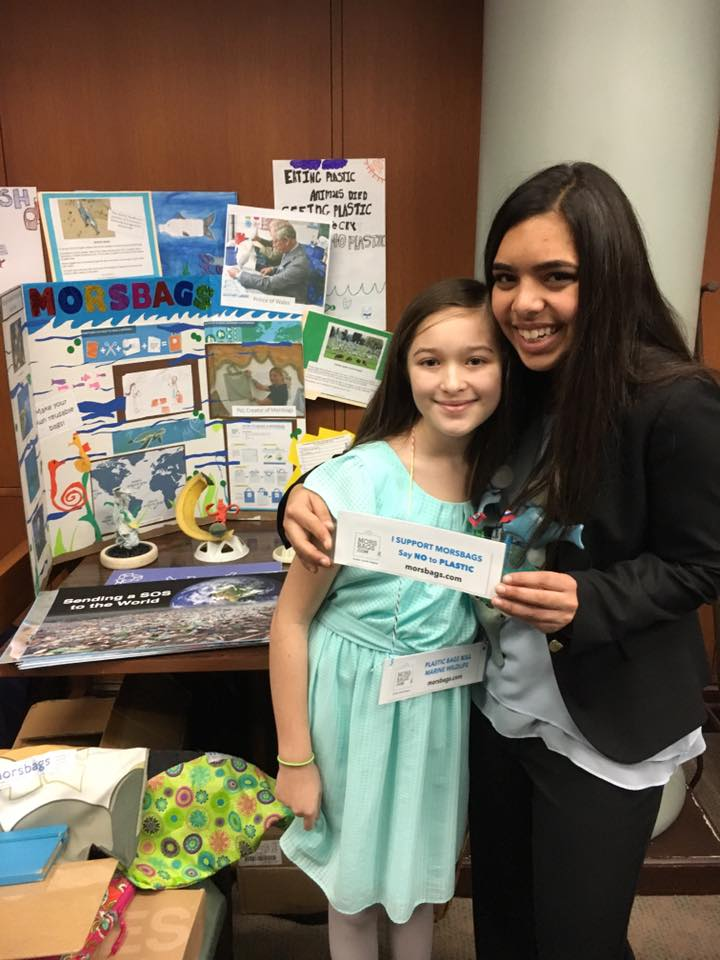 Hannah Testa has inspired youth in Atlanta and around the world to take action against plastic pollution.