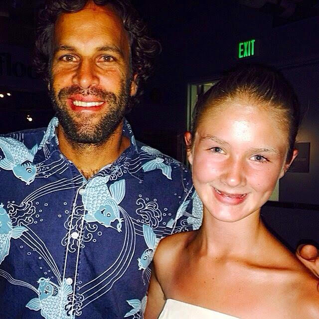 Talking about plastic pollution with Jack Johnson at the Monterey Bay Aquarium's 30th anniversary where he performed with my dad