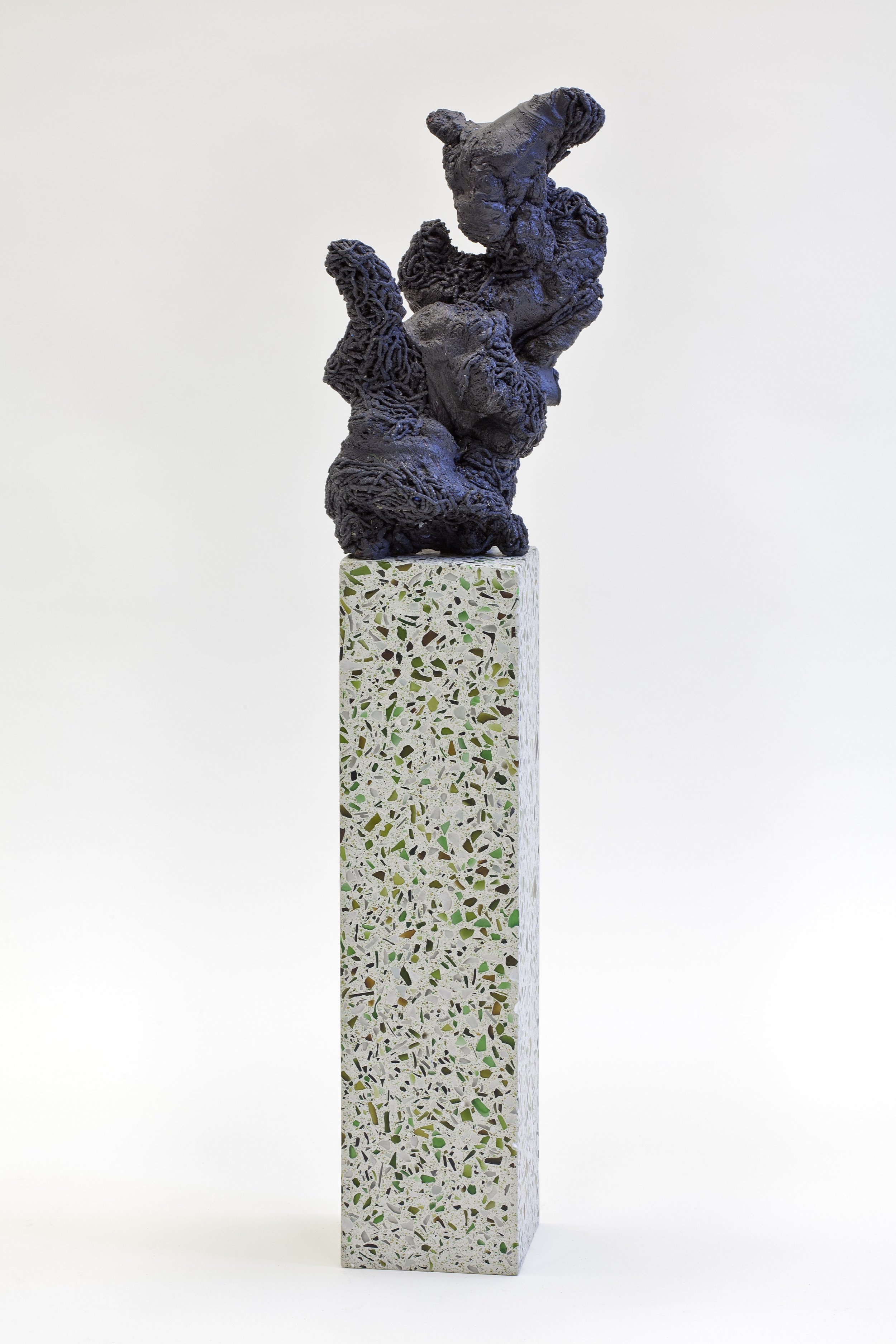 Jan Eric Visser, Untitled (Ruins of Desire II) 2015. Translucent concrete and Aquadyne, 100 x 24 x 22 cm. Special thanks to: Eindhoven University of Technology and Center for Visual Arts Rotterdam. Photo: W. Vermaase