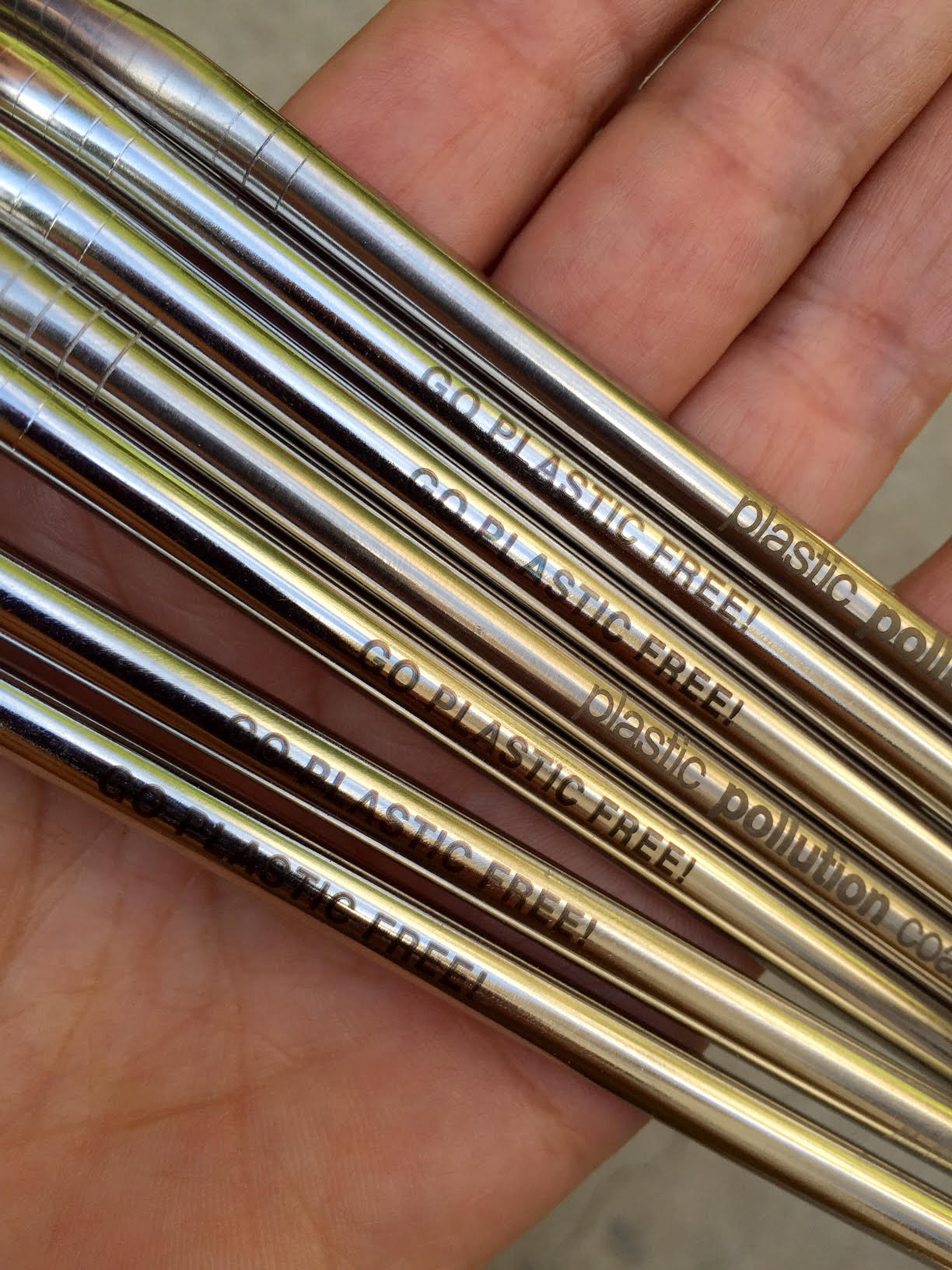 "Fans could get a free stainless steel straw by visiting all the organizations in the nonprofit ""village."" Photo by Dianna Cohen"