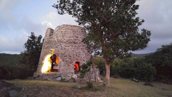 The summit culminated with a community showing of STRAWS Film at the Susannaberg Ruins